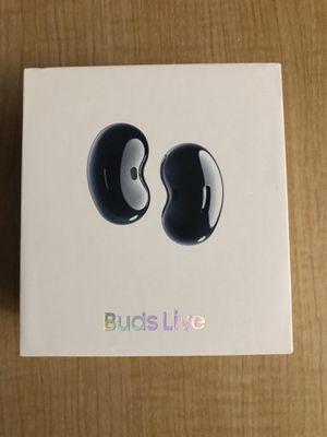 Samsung - Galaxy Buds Live True Wireless Earbud Headphones - Black for Sale in San Francisco, CA