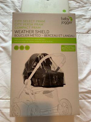 Baby Jogger City Select bassinet rain cover for Sale for sale  Brooklyn, NY