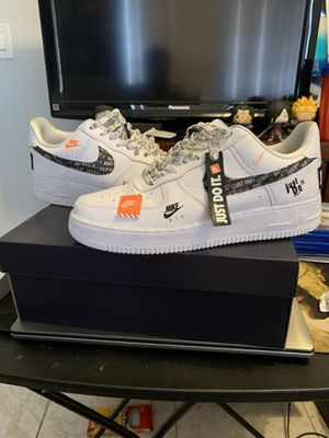 Nike Air Force 1 Just Do It for Sale in Hialeah, FL
