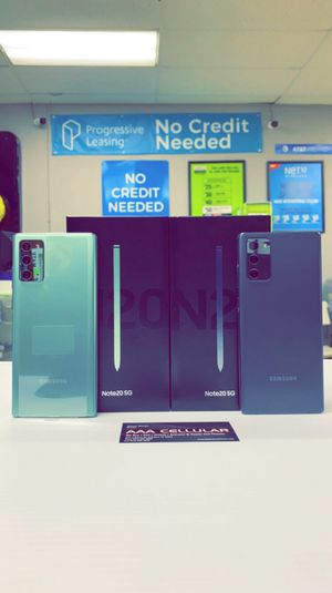 Samsung Galaxy Note 20 5G 128gb Factory Unlocked, Like New, Free Charger and 30 days Warranty! for Sale in Arlington, TX