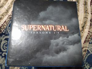 Supernatural seasons 1 through 9 Blu-ray for Sale in Chesapeake, VA