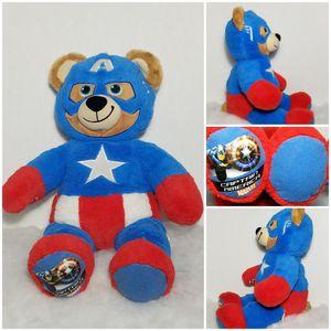 "17"" Build a Bear Workshop CAPTAIN AMERICA 🇱🇷 Plush BABW Disney Marvel for Sale in Dale, TX"
