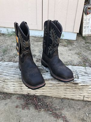 Ariat Composite Toe Waterproof Work Boots Size 9 D for Sale in Fresno, CA