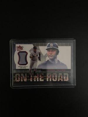 Derek Jeter Game Worn Jersey Baseball Card for Sale in Burbank, CA