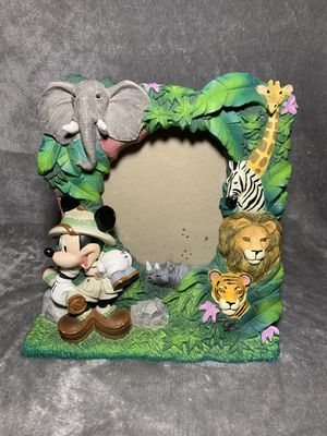 Vintage Mickey Mouse Animal Kingdom Picture Frame for Sale in Chandler, AZ