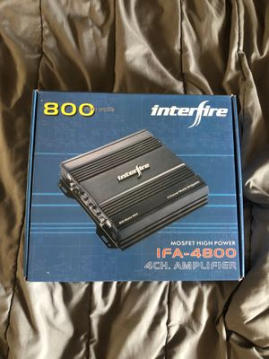 Interfire amplifier for Sale in Covina, CA