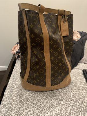 Noe Monogram Bucket Backpack for Sale in Los Angeles, CA