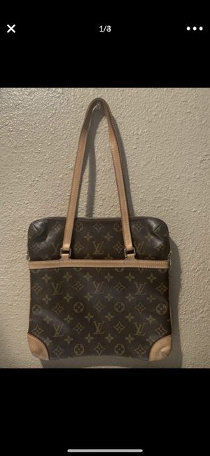 100 % AUTHENTIC LOUIS VUITTON SAC COUSSIN MONOGRAM GM BIG SIZE PURSE SHOULDER HAND BAG TOTE $500 FIRM NO TRADES for Sale in Santa Ana, CA