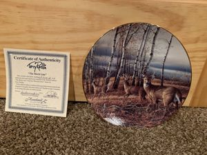 Terry Redlin's Plate - The Birch Line for Sale in Saint Michael, MN