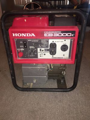 honda eb3000c generator for Sale in Chicago, IL