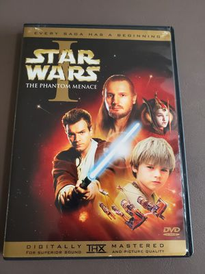 Star Wars 1 The Phantom Menace dvd for Sale in Boynton Beach, FL