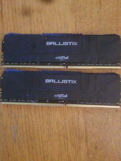 Ballistic 16gb ddr3 3000mhz Ram for Sale in Portland,  OR