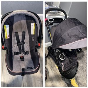 Graco Snugride Click Connect 35 Travel System for Sale in Wylie, TX