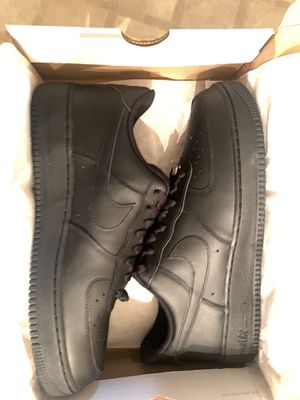 Nike Air Force ones low. Black size 11 for Sale in Atlanta, GA
