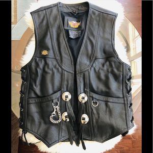 Deluxe Harley Davidson Men's Vest Size Small for Sale in Clarksville, MD