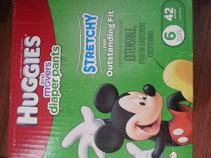 Pull up size 6 Huggies for Sale in Fairview, OR