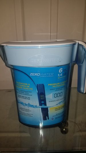 Zero water filter pitcher new for Sale in Mesa, AZ