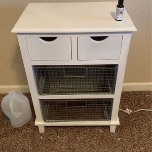 Cute White Nightstand for Sale in Chico, CA