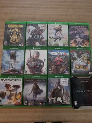 Xbox one games Lot of 12 for Sale in Payson, AZ