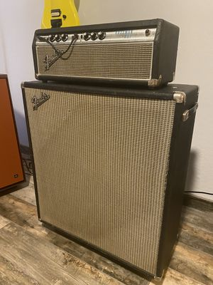 1968 Fender Bassman Head and Cab for Sale in Scottsdale, AZ
