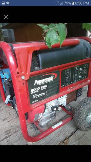 Powermate generator for Sale in Aberdeen, WA