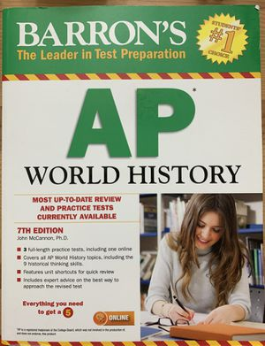 Barron's AP Word History Book for Sale in Washington, DC
