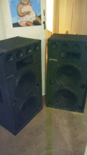 Gemini Concert Speakers Works Awesomely for Sale in Washington, DC