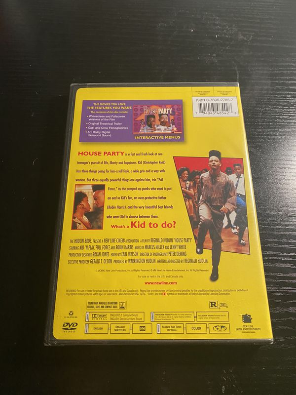 House Party DVD Brand New (Sealed)
