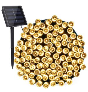 Solar string lights 72 feet new out of package for Sale in Attleboro, MA