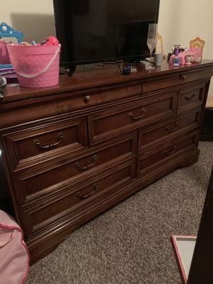Solid cherry dresser for Sale in Cedar Falls, IA