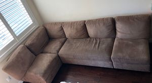 Micro fiber sofa set for Sale in San Jose, CA