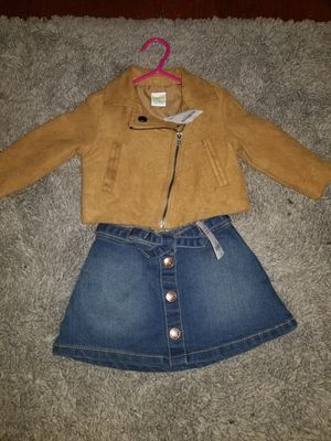 Motorcycle Jacket And Denim Skirt for Sale in St. Louis, MO
