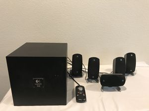 Logitech THX-Certified 5.1 280-Watt Surround Sound PC Gaming Multimedia Computer Speakers for Sale in Suisun City, CA
