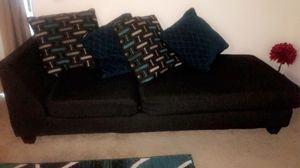 Sectional sofa for sale. Rug included $250 text me if interested {contact info removed} for Sale in Marietta, GA