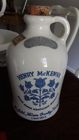 Vintage Henry McKenna Whiskey Jug for Sale in Chester, VA