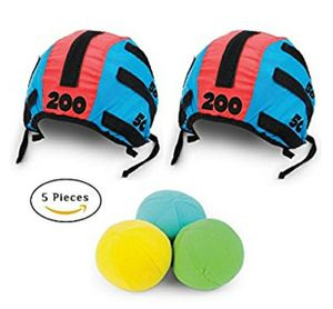 NEW! Toss Head Games for Adults and Kids – Best Family Games and Ball Toss Game Set with 5 Pieces, 2 Headbands Caps Hats and 3 for Sale in Stuart, FL