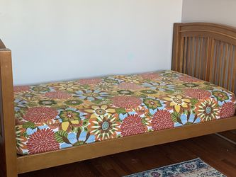 Twin Bed, matrrss & Peddling for Sale in Cary,  NC