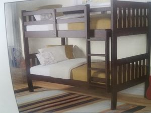 Twin over twin bunk bed $39 down for Sale in Fort Worth, TX
