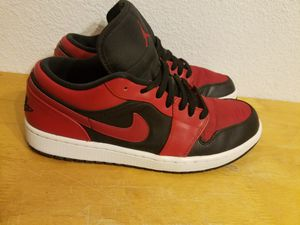 Retro Air Jordan 1 Bred Low Sz 10.5 for Sale in Phoenix b0e347161