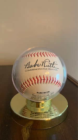 Babe Ruth 100th Anniversary Commemorative Baseball for Sale in Broadview Heights, OH