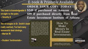 """""""How To Make Money In Real Estate Investments"""" for Sale in Atlanta, GA"""
