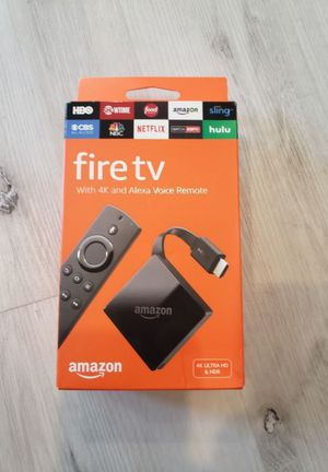 AMAZON 4K FIRE TV UHD HDR NEW PENDANT! for Sale in Irvine, CA