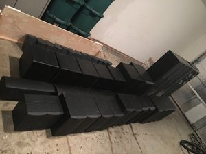 Ridiculous Home Audio Speakers all Infinity 45 speakers total for Sale in Fairview, TN