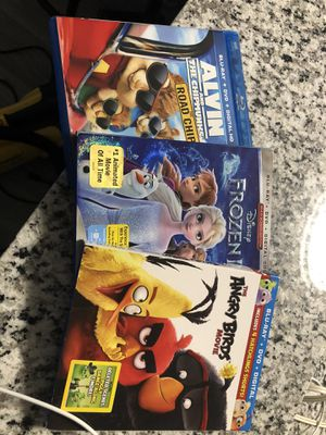 3 DVD and blue rays movies for Sale in Greenacres, FL
