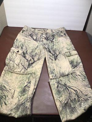 Cabelas Camo cargo pants sz,34 reg for Sale in Stockton, CA