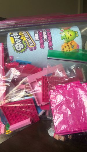 Shopkins LEGO Set with extras for Sale in Holly Springs, NC