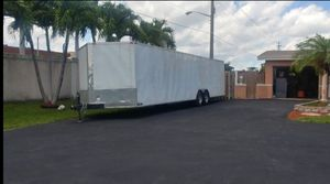 2012 32x8.5 Two Car Enclosed Cargo Trailer for Sale in Sunrise, FL