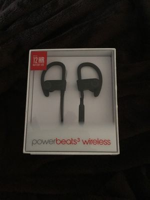 Powerbeats 3 wireless (Black) for Sale in Silver Spring, MD