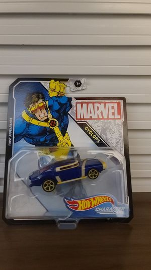 CYCLOPS - Marvel Character Cars - Hot Wheels for Sale in Chula Vista, CA