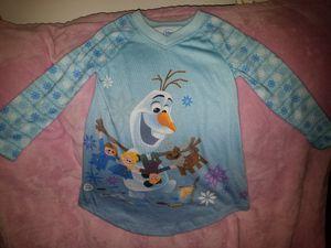 Disney's Frozen Olaf Toddler Girls Long Sleeping Shirt size 2 for Sale in Tucson, AZ